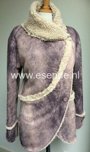 Winters jasje van teddy lammy suedine