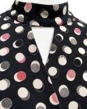 Viscose tricot top met bolletjes