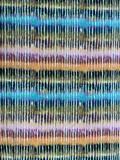 Batik in streepvorm met diverse kleuren jersey